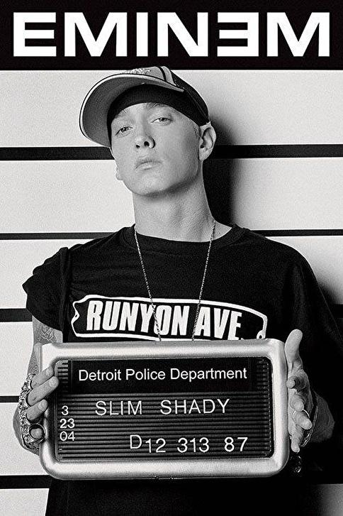 Pyramid International Maxi Poster Eminem Mugshot Renkli